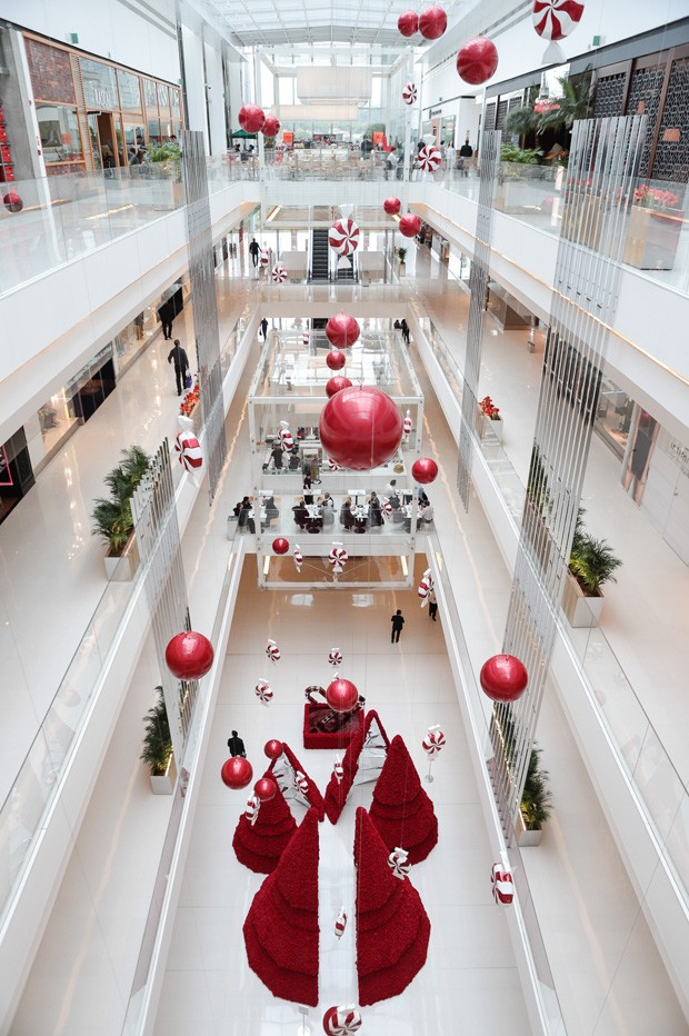 10 lugares em São Paulo com decoração natalina para levar as crianças  (Foto: Nicolas Calligaro )