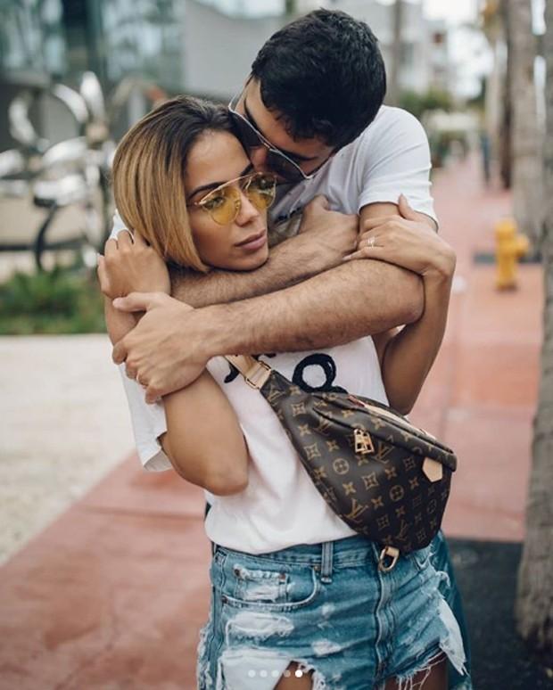 Anitta e Thiago Magalhães (Foto: Reprodução / Instagram)