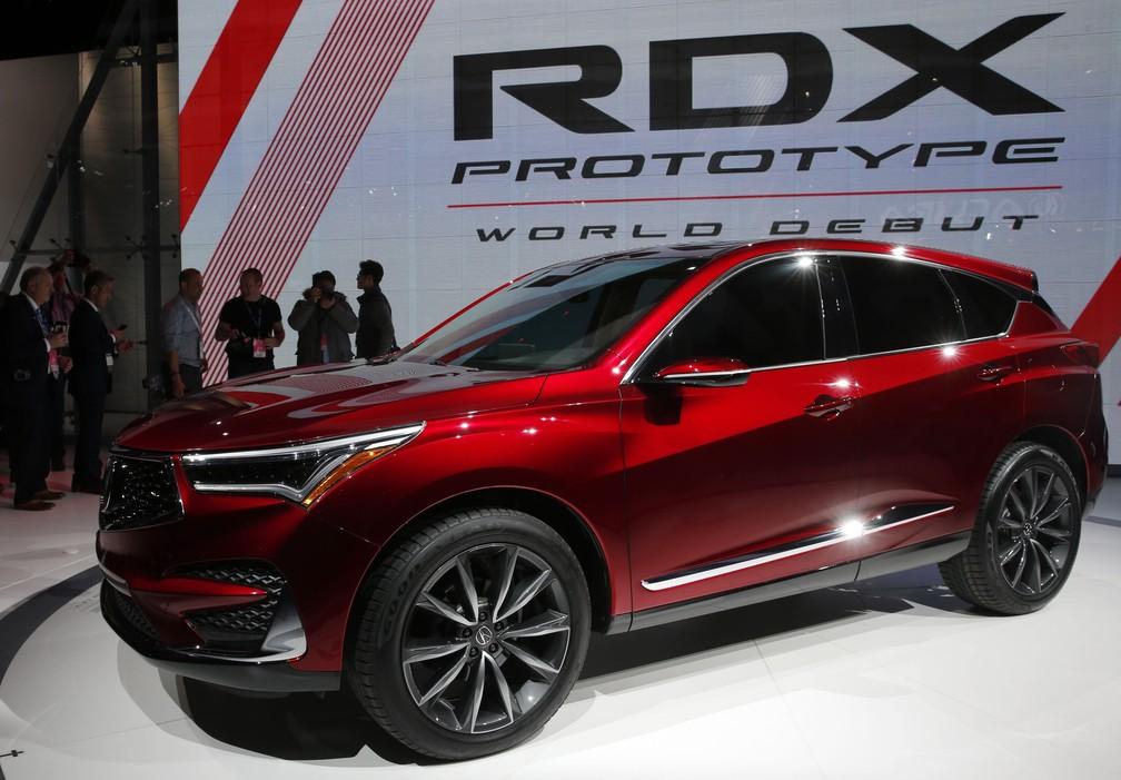 Protótipo do Acura RDX estreia no evento em Detroit (Foto: Jonathan Ernst/Reuters)