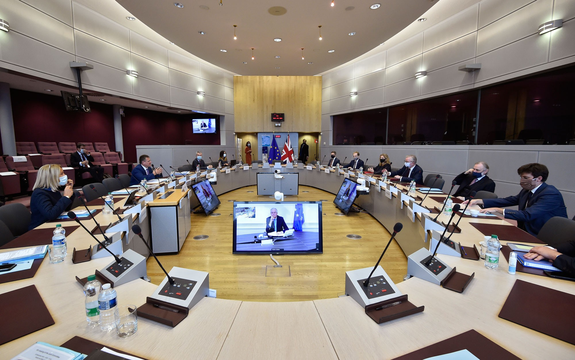Começa 9ª rodada de negociações para tentar destravar diálogo UE-Reino Unido