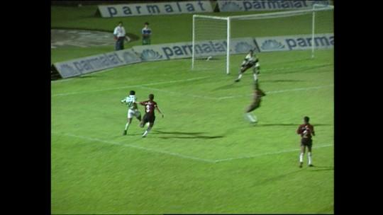 Palmeiras x Vitória na Copinha de 1993 teve Marcos titular e Wesley Carvalho no banco de Dida