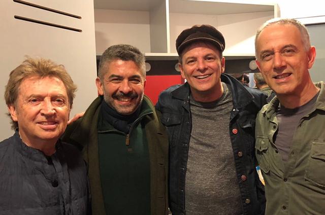Ariel Palácios foi conferir o show da banda Call the Police, que esgotou a bilheteria do Teatro Eliseo, em Buenos Aires (Foto: Arquivo pessoal)