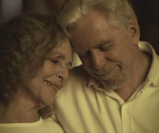Irene Ravache e Reginaldo Faria em 'Espelho da vida' | Reprodução