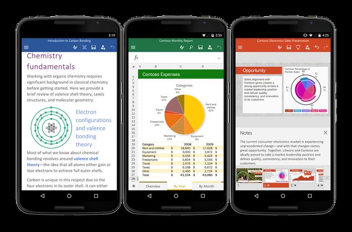 Office Mobile ganha atualização e chega gratuitamente para Android (Foto: Divulgação)
