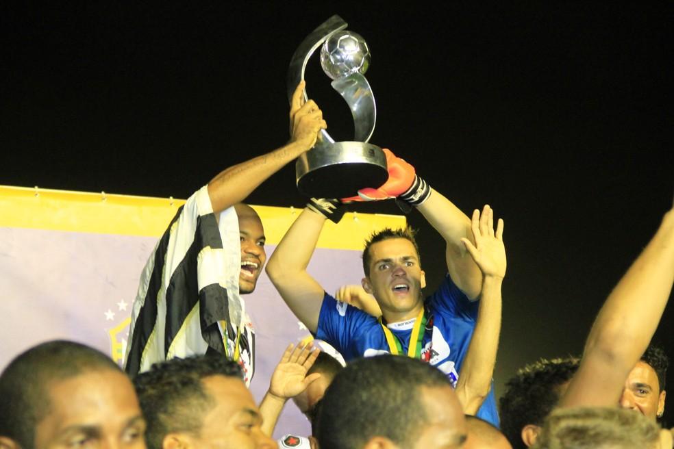 Botafogo-PB foi o campeão brasileiro  — Foto: Kleide Teixeira / Jornal da Paraíba