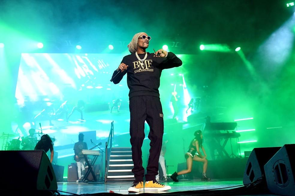 Snoop Dogg, Eminem e Kendrick Lamar farão show do intervalo do Super Bowl