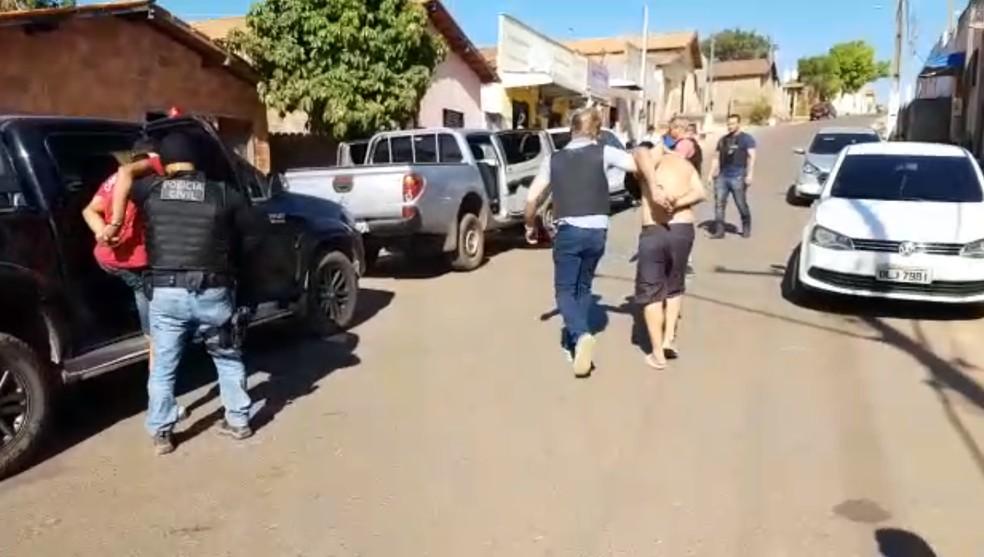 Operação foi feita por agentes na cidade de Imperatriz (Foto: Polícia Civil/Divulgação)
