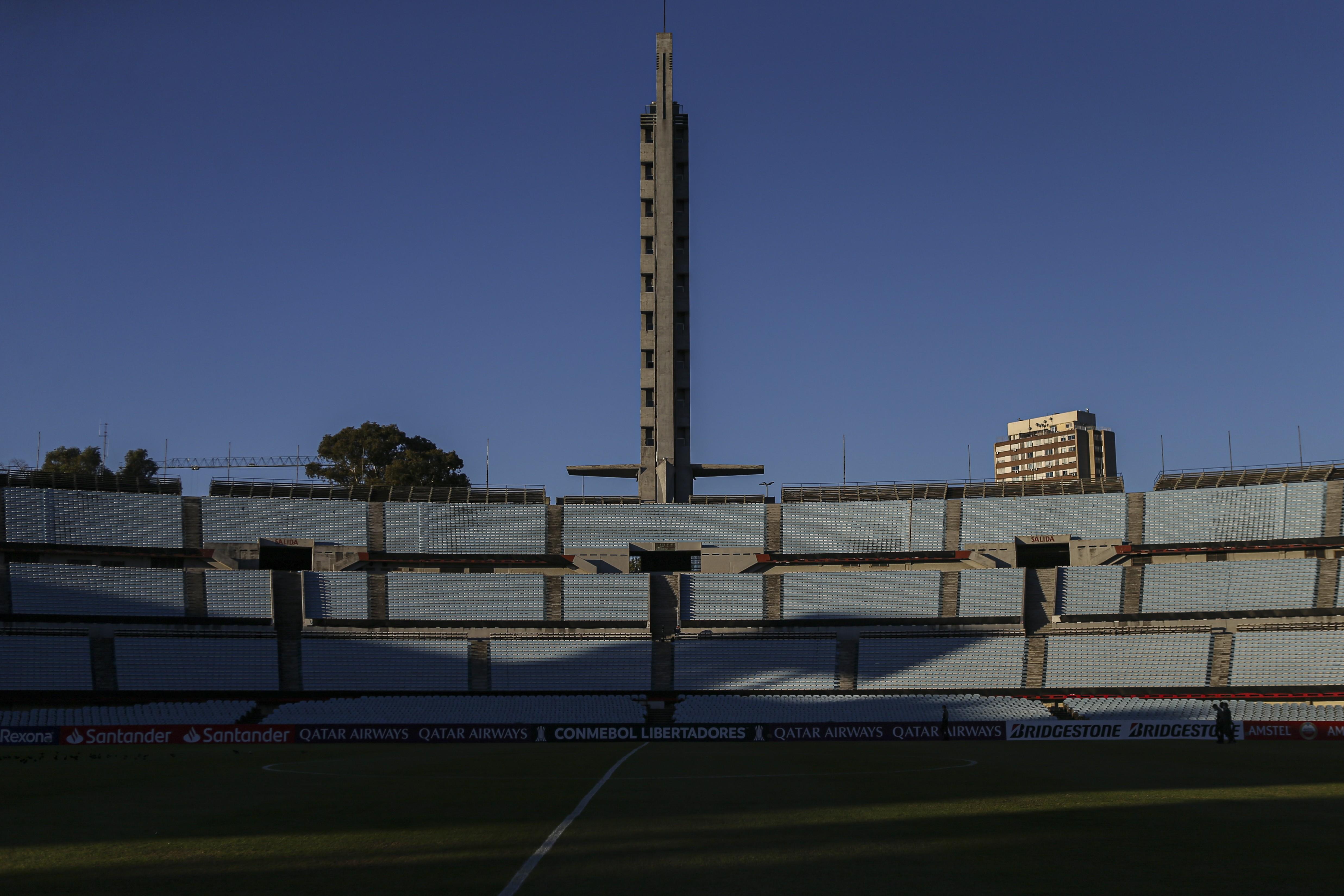 O Estádio Centenário, que será o palco da final