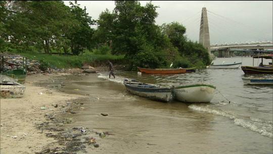 Poluição na Baía de Guanabara e lagoas causa prejuízo de R$50 bilhões ao Rio de Janeiro
