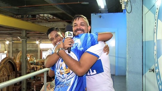 Veja como foi o encontro entre Lucas e Edson na Unidos de Vila Isabel
