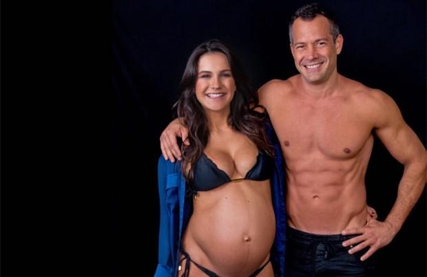 Kyra Gracie e Malvino Salvador (Foto: Reprodução / Instagram)