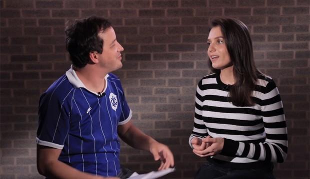 Rafael Cortez e Monica Iozzi (Foto: Reprodução/Instagram)