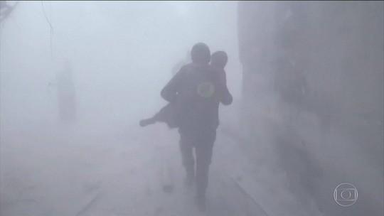 Em Ghouta, na Síria, começa retirada de feridos após acordo humanitário