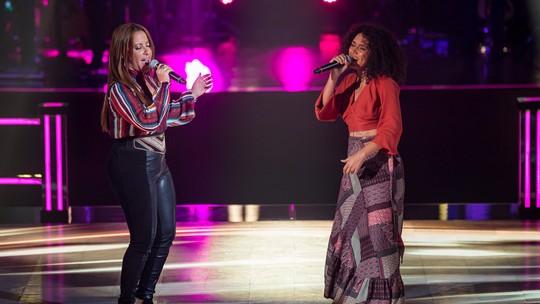 Time Teló tem Fabiana Oliveira e Nina Oliveira nas Batalhas do 'The Voice Brasil'