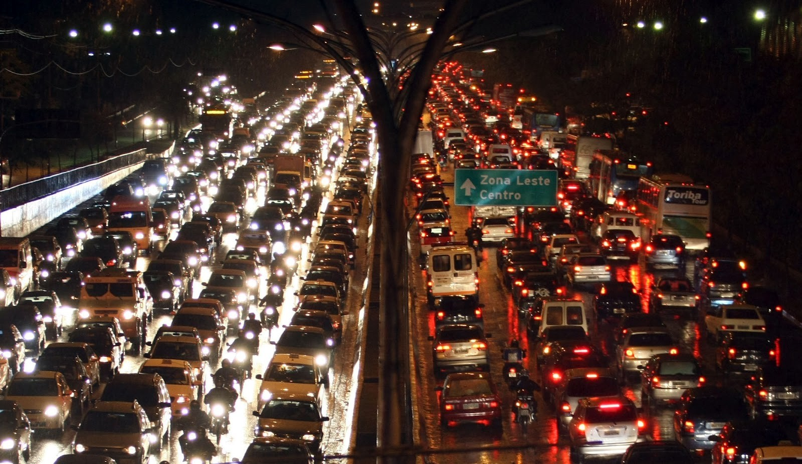Trânsito em São Paulo ganha estudo com rotas mais inteligentes (Foto: Reprodução)
