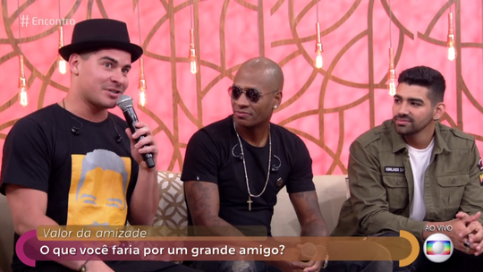 Thiago Martins fala sobre fazer parte do Sorriso Maroto: 'Responsabilidade grande'