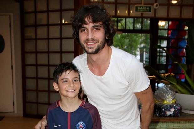Fiuk e Záion (Foto: Thiago Duran/AgNews)
