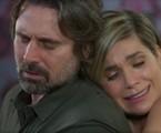 Murilo Rosa e Flávia Alessandra são Mário e Helena em 'Salve-se quem puder' | Reprodução