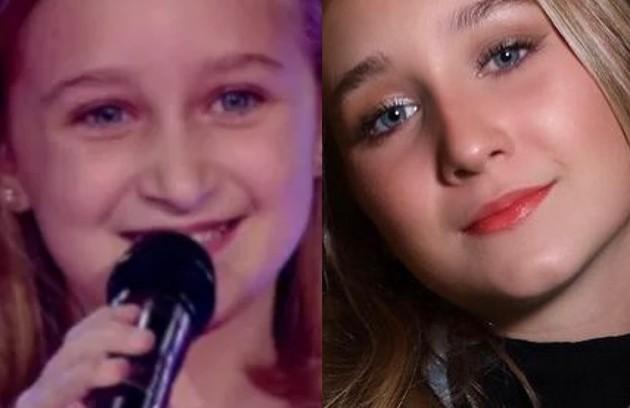 Luiza Gattai participou do 'The voice kids' 2 aos 9 anos e foi uma das semifinalistas. Além de cantora, é atriz (Foto: Reprodução)