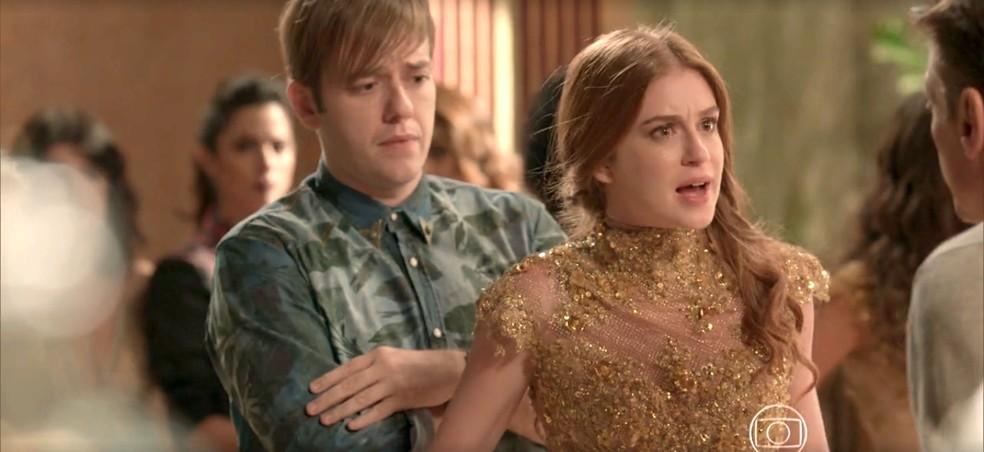 Eliza decide ir atrás de Jonatas — Foto: TV Globo
