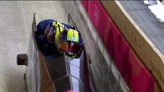 Em 25º no bobsled 4-man, Brasil se mantém vivo por vaga no top-20