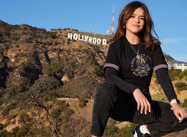 Maísa Silva viaja a Los Angeles e compartilha seus passeios nas redes sociais (Foto: Instagram/ Reprodução)