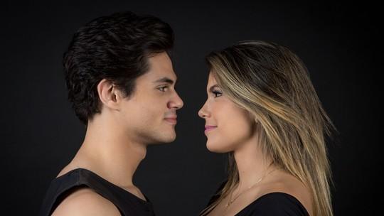 Lucas Veloso pensa em casamento com Nathalia Melo e avisa que Faustão será padrinho