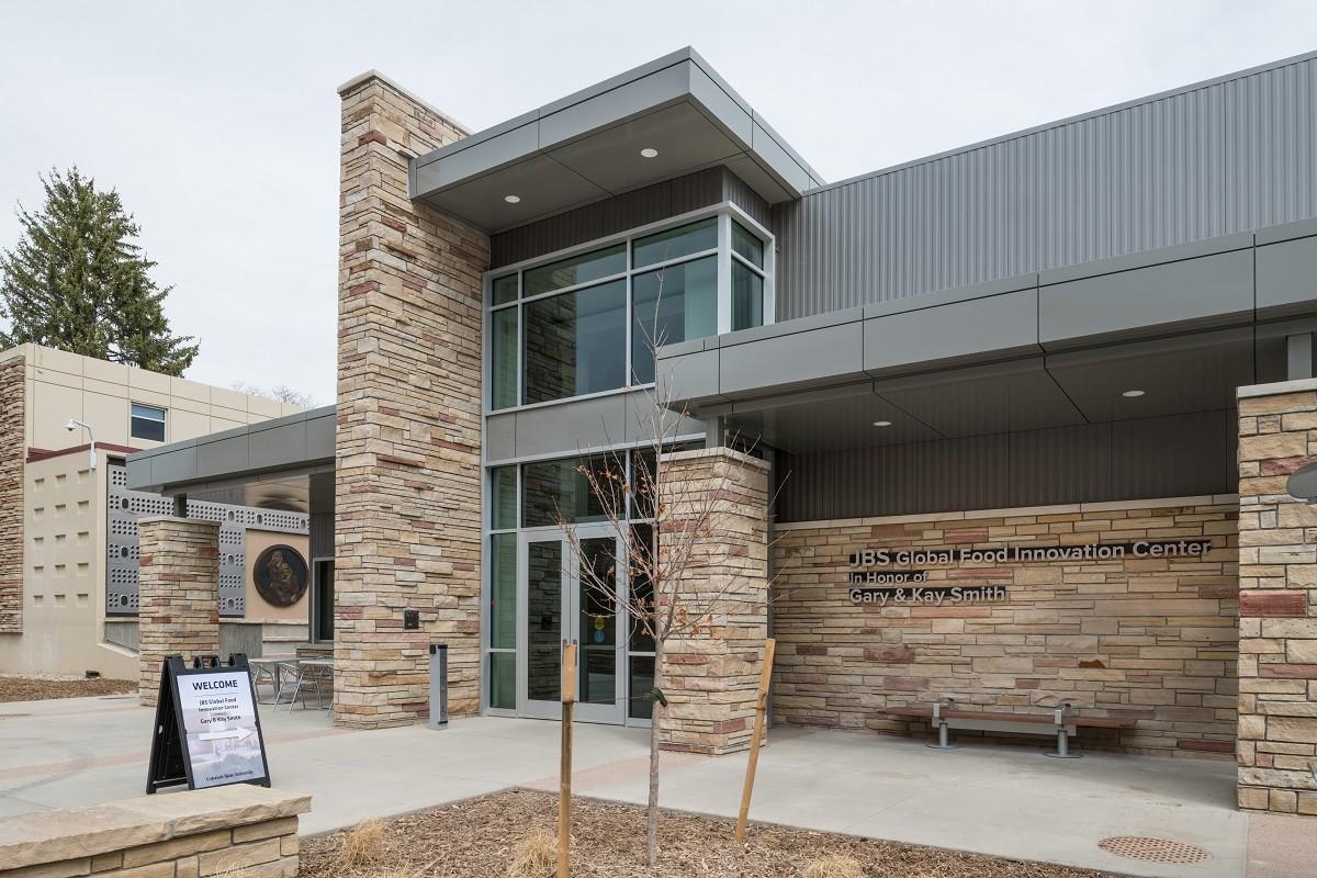 Centro Global de Inovação de Alimentos da JBS, na Colorado State University (Foto: Divulgação)