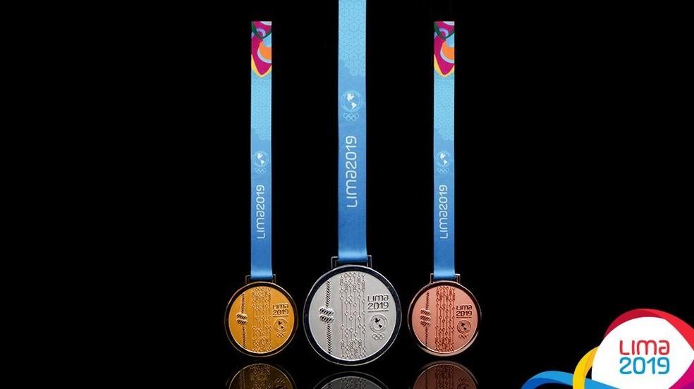 Medalhas do Pan e do Parapan de Lima são reveladas — Foto: Divulgação