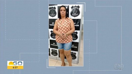 Mulher é presa suspeita de furtar R$ 15 mil de idosos após golpe do 'boa noite Cinderela', em Trindade