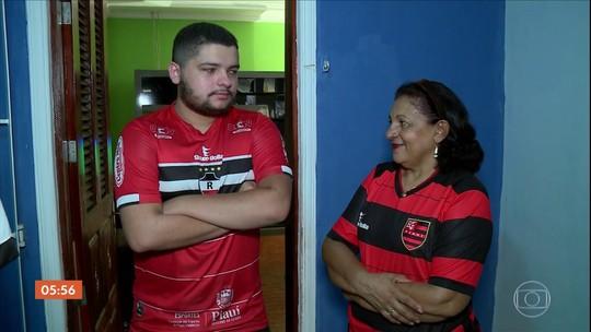 Flamengo x River raiz: no Piauí, final da Libertadores acontece há 70 anos e divide até família; veja