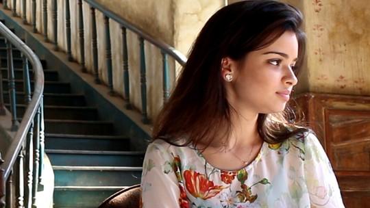Gabriella Mustafá, a Zana na fase jovem de 'Dois Irmãos', se emociona ao lembrar de gravação