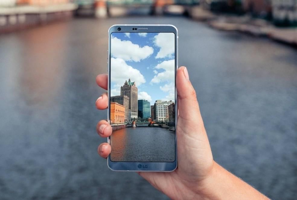 G6 ganha nova versão com 64 GB de armazenamento e tecnologia de reconhecimento facial (Foto: Divulgação/LG)