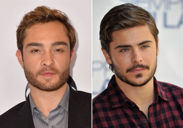 Ed Westwick e Zac Efron (Foto: Getty Images)