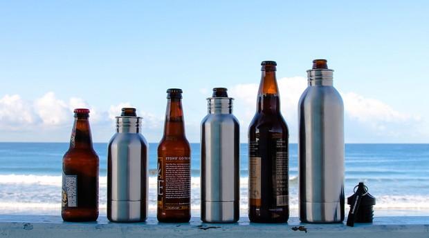 Bottlekeeper: garrafa permite que cerveja não fique gelada (Foto: Divulgação)