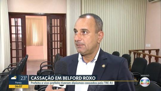 TRE cassa diplomas de prefeito e vice-prefeito de Belford Roxo