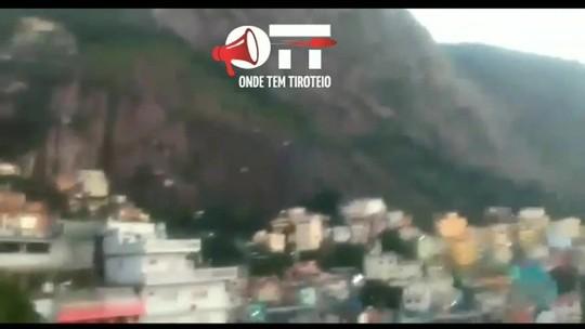 Moradores do Morro do Vidigal são acordados com um intenso tiroteio