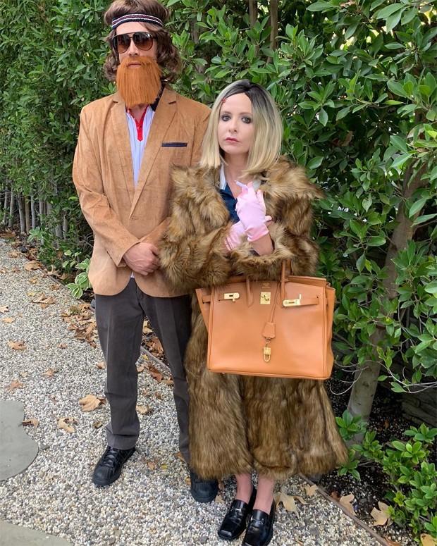 Freddie Prinze Jr e Sarah Michelle Gellar (Foto: Reprodução/Instagram)