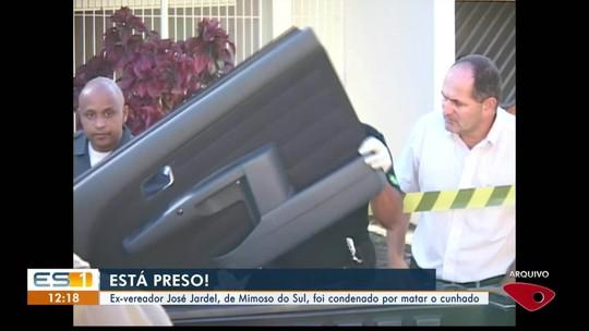 Ex-vereador de Mimoso do Sul é preso por matar cunhado, ES