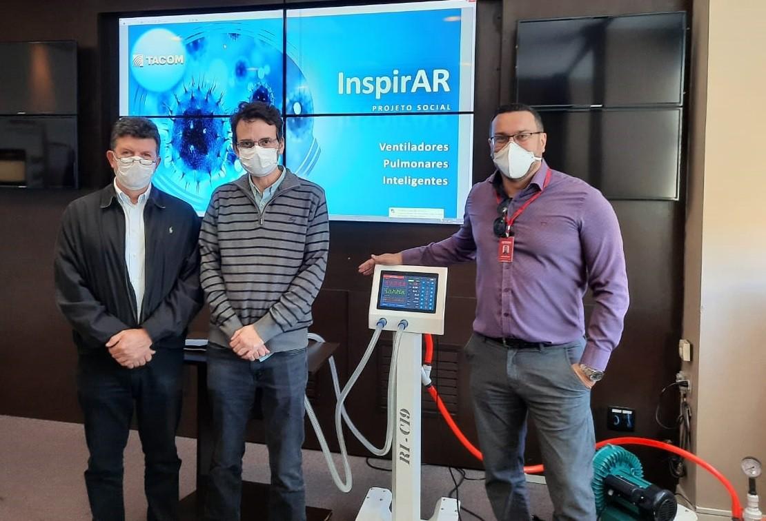 Pesquisadores da UFJF participam de projeto para produção de respiradores