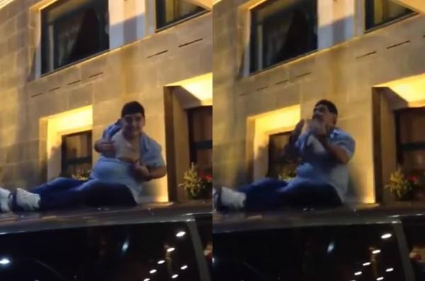 Maradona  (Foto: Reprodução Youtube)