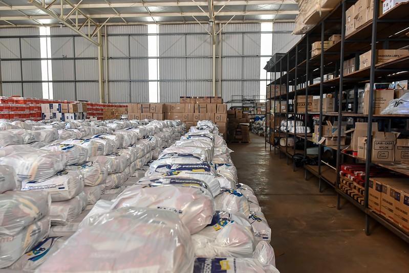 Central de Doações em Uberaba atende mais de duas mil famílias em menos de um mês
