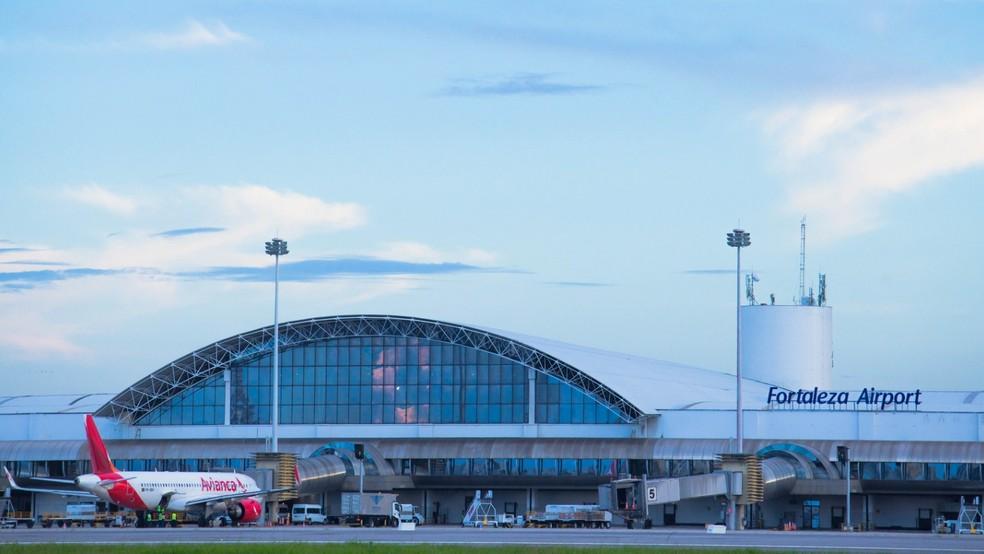 Aeroporto de Fortaleza.  — Foto: Agência Diário