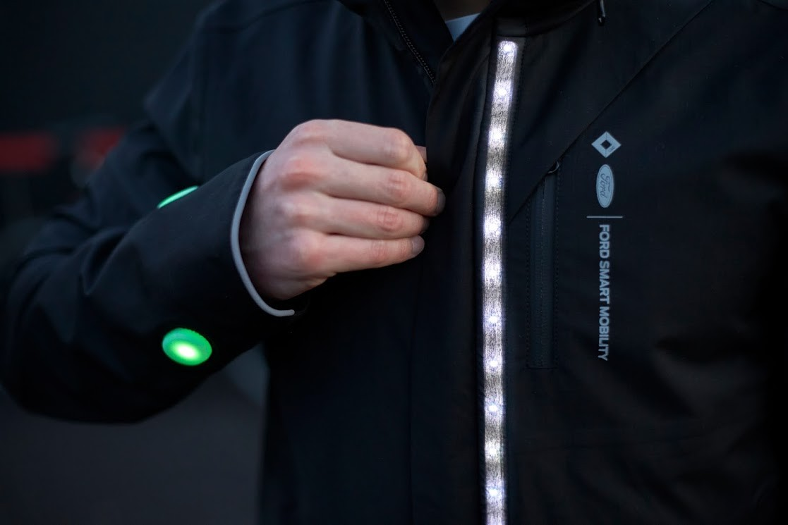 """Ford cria """"jaqueta inteligente"""" para ciclistas (Foto: Divulgação)"""