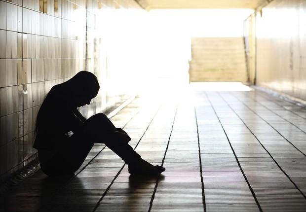 Depressão; jovem; adolescente; (Foto: Think Stock)