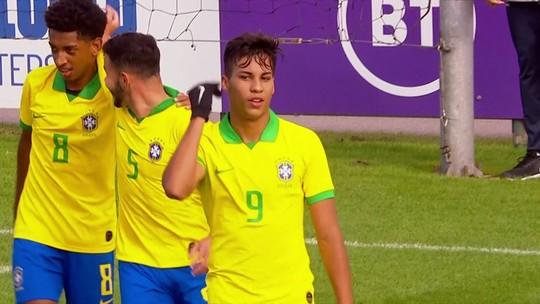 """Joias do Santos comemoram convocação para o Mundial Sub-17: """"Vamos brigar pelo título"""""""