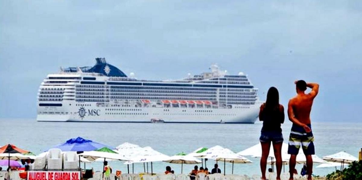 Cabo Frio, RJ, espera receber mais de 3 mil turistas durante passagem de transatlântico