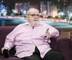 Jô Soares é entrevistado no programa de Fábio Porchat | Edu Moraes/Record TV
