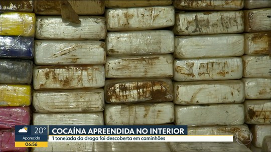 Carga de 1 tonelada de cocaína e fuzil que derruba aeronaves seriam entregues no RJ