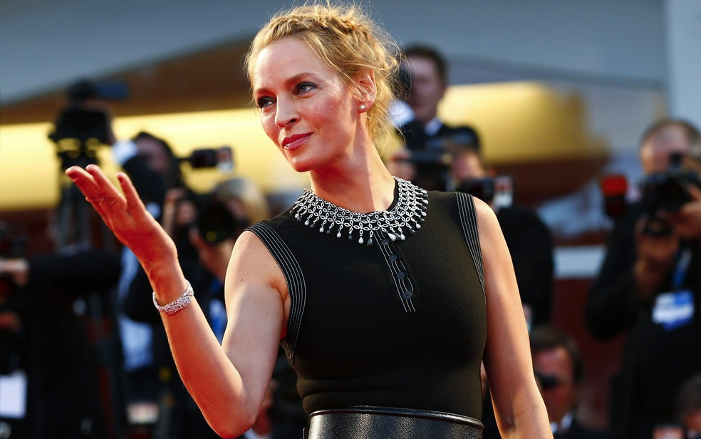 Uma Thurman revela que foi assediada por Harvey Weinstein